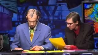 Диктор Натан Тюрин и корректор Казимир Морочич.