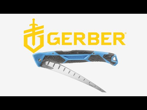 Gerber Adds Folding Controller Filet  Knife To Its Saltwater Offerings