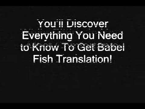 Babel Fish Translation