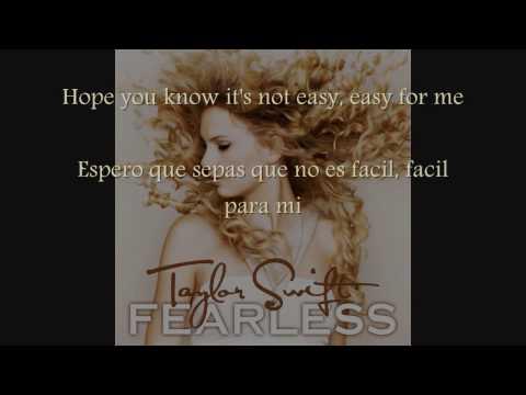 Breathe_Taylor Swift {Lyrics/Letra: Ingles/Español}
