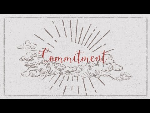 [March 6, 2016] Commitment - Hee Jin Chong