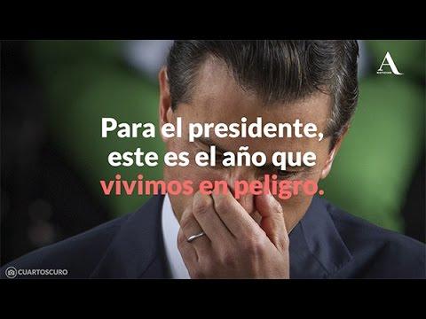 EPN: El año en que vivimos en peligro - Aristegui Noticias