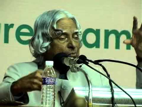 EML Dr.  A P J Abdul Kalam IIT Madras - a  wonderful speech