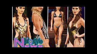 New York Fashion Week's sexiest swimwear: From plunging necklines t...
