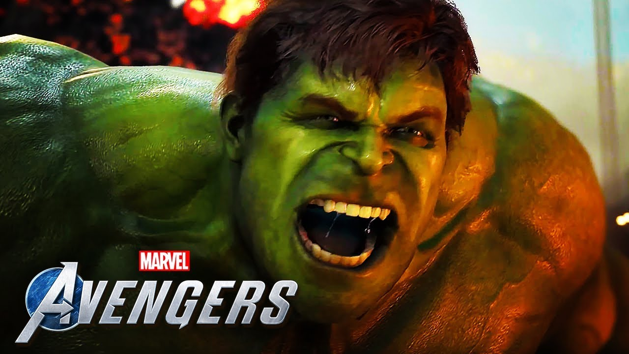 Marvel's Avengers - 19 Minutes Of Official 4K Gameplay   A-Day Prologue