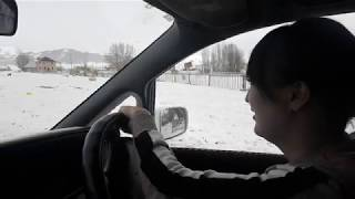 Driving lesson 2019, Kyrgyzstan