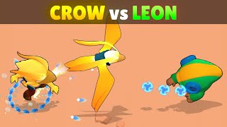 CROW vs LEON | 21 Tests | Best LEGENDARY in Brawl Stars!