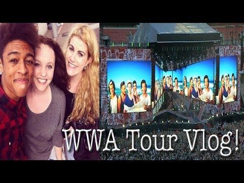 One Direction WWA Tour Vlog! - London - Wembley Stadium 7/6/14