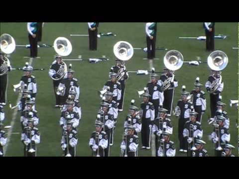 Spartan Marching Band- Moves Like Mick Jagger Rubberband Man