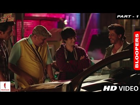 Happy New Year - A Farah Khan Film | Bloopers (Part 1)