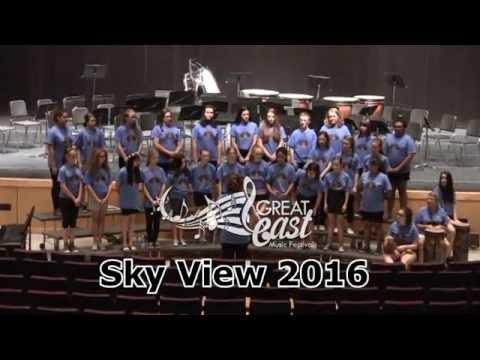 Sky View - Great East Music Fest 2016