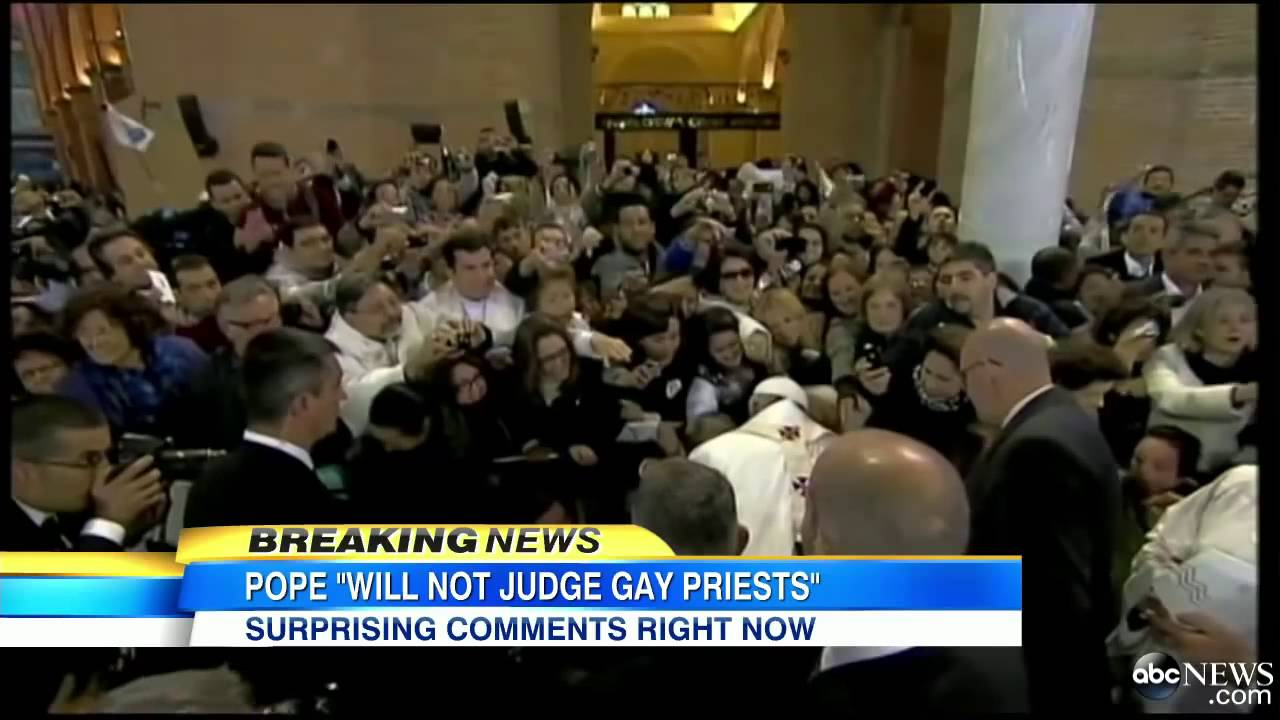 Pope Francis Comments on Gay Priests, Homosexuality: `Who ...