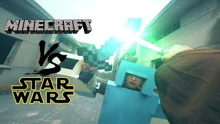 Minecraft vs Star Wars in real life