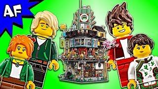 Lego Ninjago Movie NINJAGO CITY 70620 Animation Speed Build
