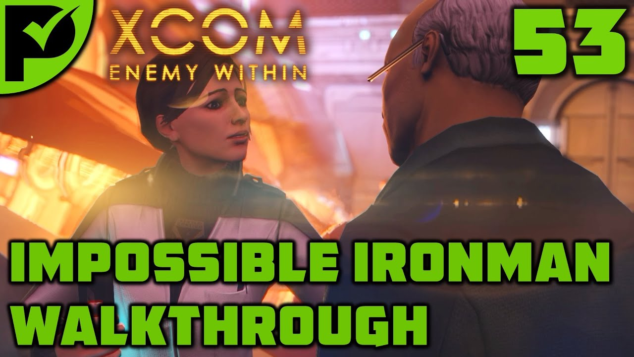 The Overseer UFO - XCOM Enemy Within Walkthrough Ep. 53 [XCOM Enemy Within Impossible Ironman]