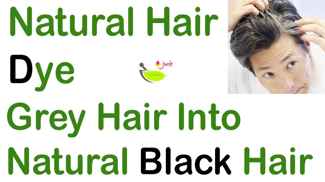 White Hair To Black Hairnaturallyhomemade Hair Dye Natural