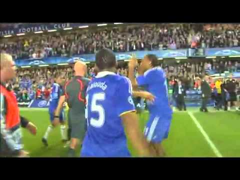 Didier Drogba Swears CL Semi Final.