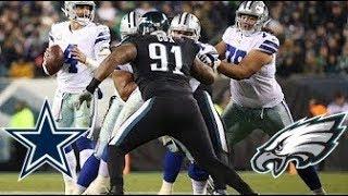 Connor Williams Vs Fletcher Cox & O Line Pass Protection || Dallas Cowboys Film Session