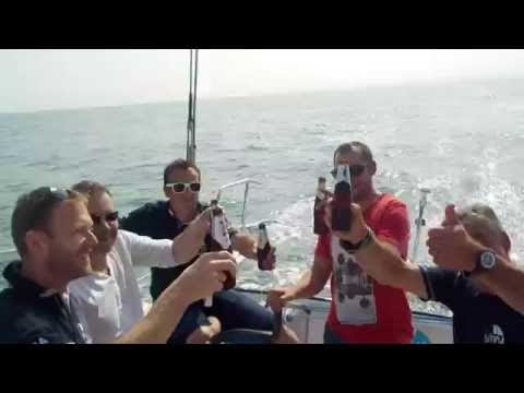 Equipe SETIN Industrie cotentin à bord de Groupe Sétin - août 2016