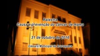 Palestra Causa e prevenção do câncer de mama