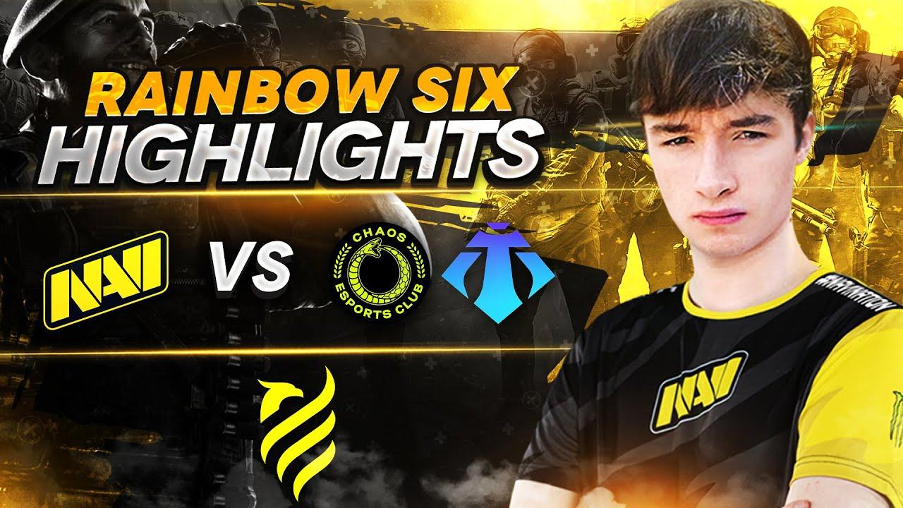 Rainbow Six Highlights: NAVI vs Chaos, Tempra @ European League Season 2