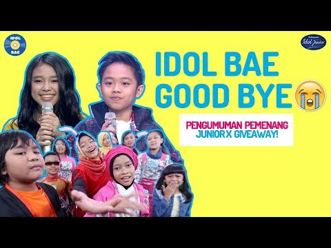 PESAN TERAKHIR JUNIOR + PENGUMUMAN GIVEAWAY! | IDOL BAE (Backstage Anything Else)