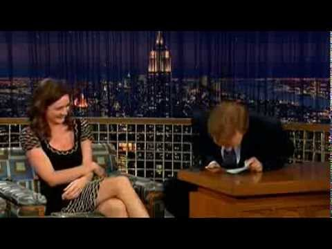 Conan O'Brien 'Emily Mortimer 11107