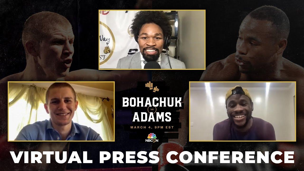Bohachuk Adams Virtual Press Conference with Shawn Porter