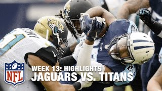 Jaguars vs. Titans | Week 13 Highlights | NFL