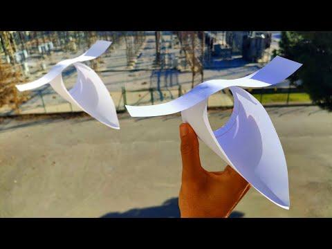 kağıttan-uçak-yapımı-/-paper-airplane