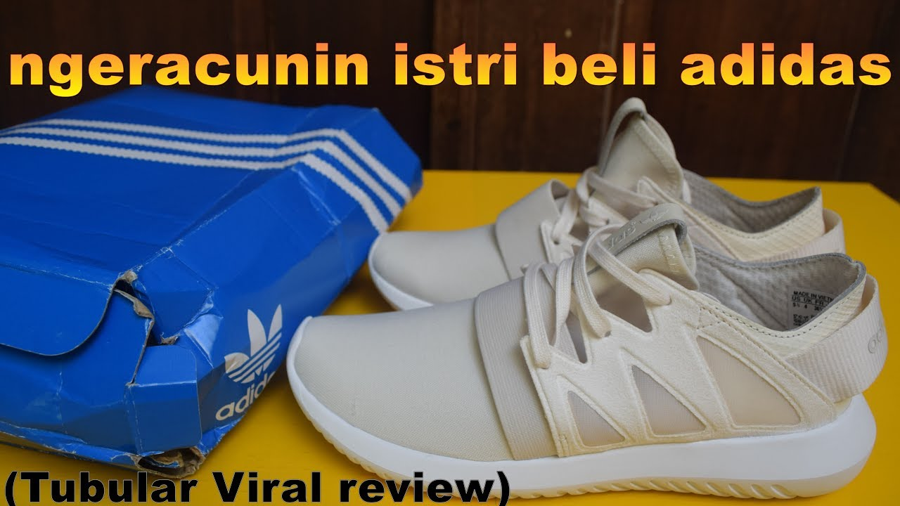 quality design 29f2b c9079 Unboxing  Review (dikit) adidas Tubular Viral (women) - EK18VLOG13