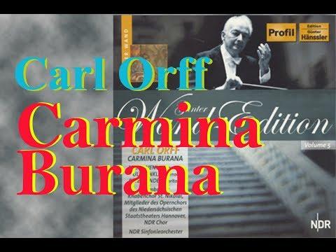 Orff Carmina Burana(Günter Wand 1984)