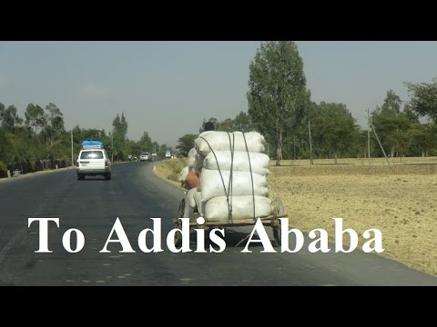 Ethiopia/ To Addis Ababa via Sodo&Adilo city Part 2/66