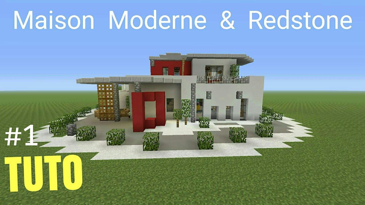 Maison Moderne Minecraft Tuto