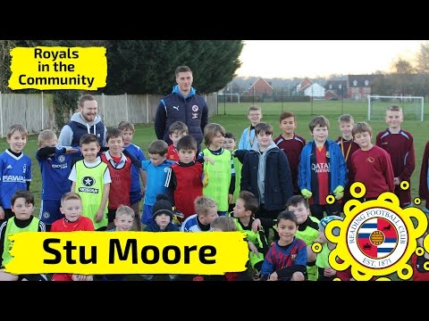 Stu Moore's penalty shootout at a local school!