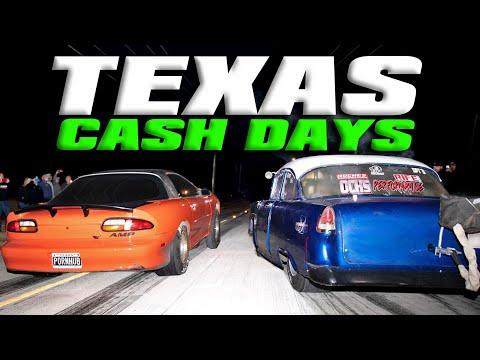 Dallas STREET RACING - Racer caught CHEATING?!