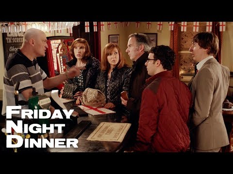 Making A Scene In The Pub | Friday Night Dinner