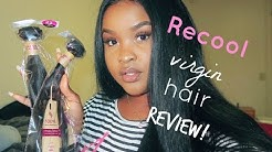 Brazilian Straight Hair With Frontal | Unboxing Hair Review | Recool VIRGIN Hair
