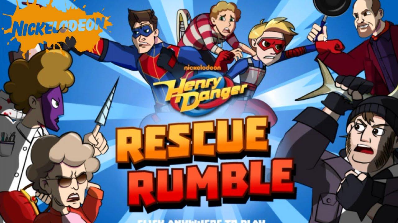 Nickelodeon - Henry Danger Rescue Rumble - FREE Nickelodeon Games Online for Kids- Nick