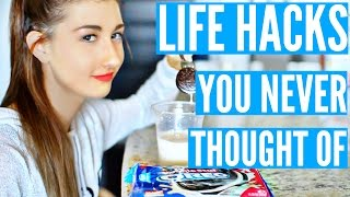 LIFE HACKS THAT WILL CHANGE YOUR LIFE