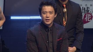 劇団☆新感線「髑髏城の七人」Season 花 の製作発表が行われ、小栗旬、山...