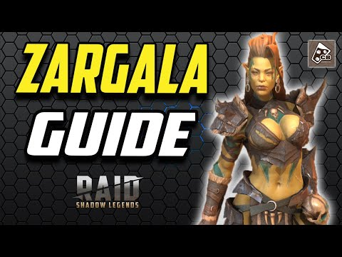 ZARGALA DESTROYS EVERYONE!!  | GUIDE - MASTERIES - GAMEPLAY | RAID SHADOW LEGENDS