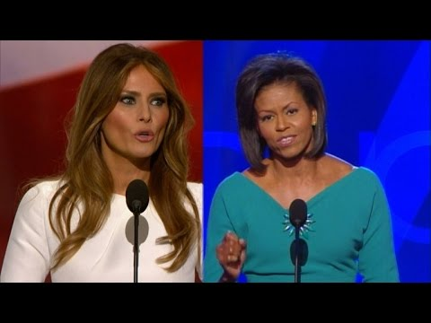Michelle Obama Finally Speaks Out About Melania Trump's Plagiarized Speech