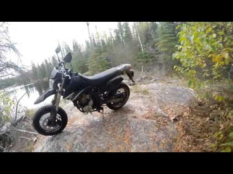 Exclusive Release! Group Trail Ride Music Video. Kawasaki KLX250s/250sf.
