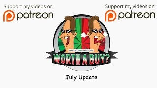 July 2016 Update - Donations, Future reviews and New PC update