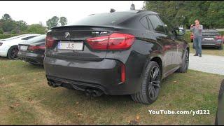 700hp BMW X6M w/ Akrapovic Titanium Exhaust System! LOUD SOUND!
