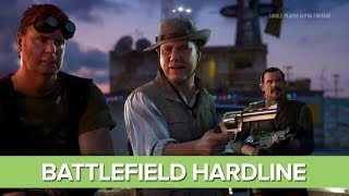 Battlefield Hardline Gameplay: Single Player Campaign - 12 Minutes