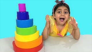 Sally Learn Colors with Finger Family Song  – Nursery Rhymes for Children, Kids and Toddlers