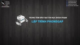 LẬP TRÌNH PHONEGAP: Hướng dẫn từng bước cơ bản nhất - KhoaPham.Vn