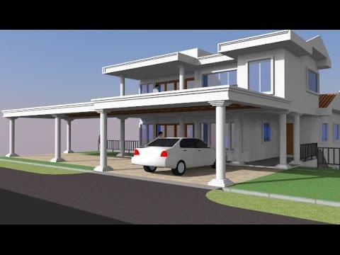 Rekabentuk Ubahsuai Porch Banglo 2 Tingkat Di Yen Shah Alam